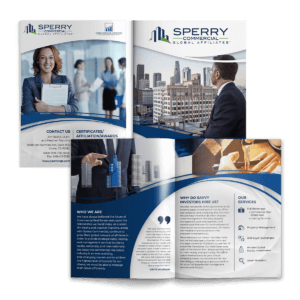 Marketing Collateral Sperry Commercial B2B Brochure