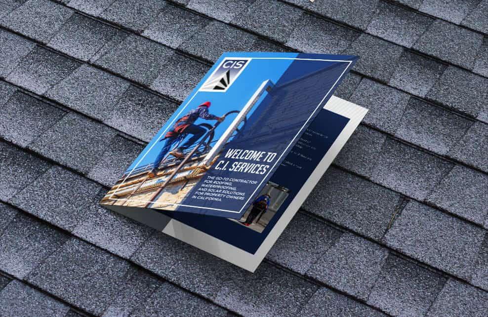 Marketing Collateral CI Services B2B Brochure