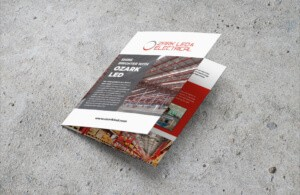 Marketing Collateral Ozark LED & Electrical B2B Brochure