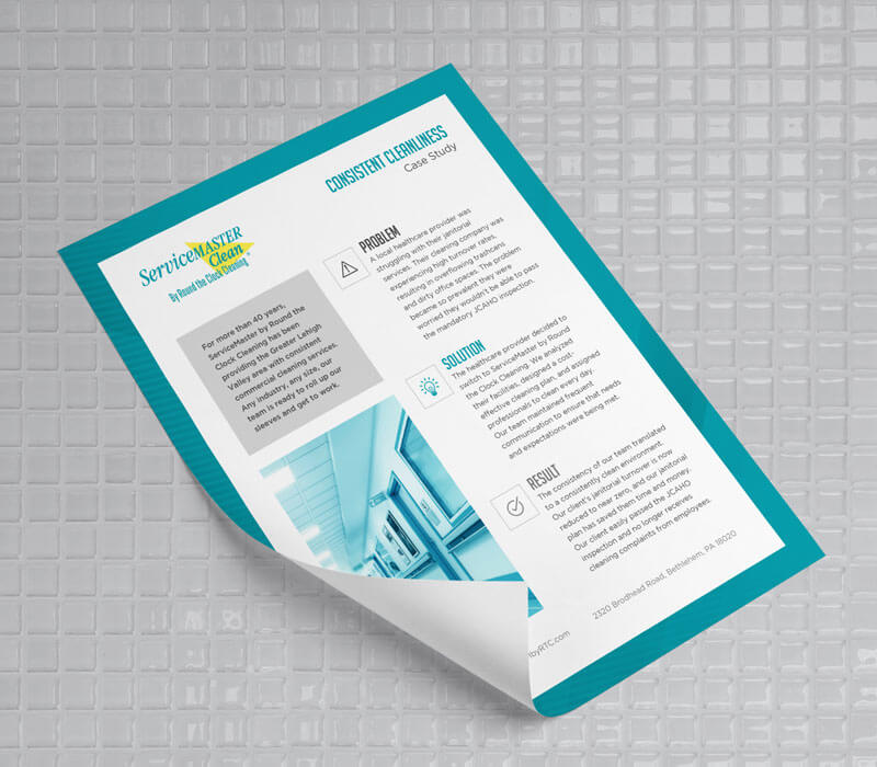 Marketing Collateral ServiceMaster B2B Case Study